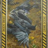 A painting of crows by John C. Pitcher